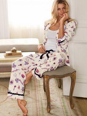 4af3ec9ad3f38 Домашний образ: красивая женская одежда для дома, модная домашняя одежда