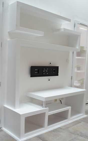 Photo Fabriquer Meuble Tv 09 Tv Wall Design Living Room Tv Modern Tv Wall Units