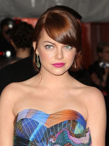 Emma Stone Then - Celebrity Red Carpet Beauty Looks Then and Now - Photos