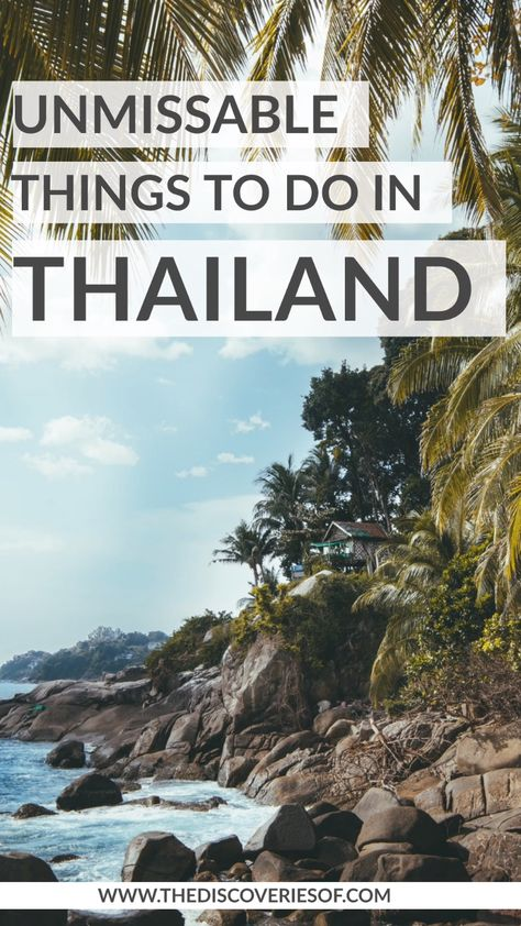 Thailand, it's ON. 50 incredible things to do in Thailand for your Thailand bucket list! #thailand #travel #bucketlist #traveldestinations