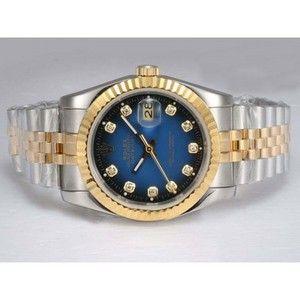 391109cb2ad Datejust Rolex automático con diamantes de oro de marcar lleno con ... just  because