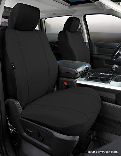 Black Gray Car Seat Front Semi-Custom Fabric to Mercedes-Benz 8161