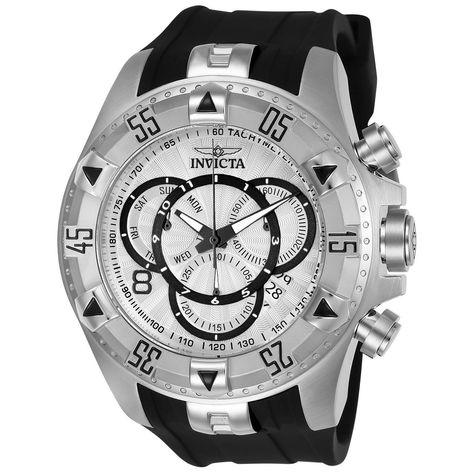 Invicta Men's 24270 'Excursion' Black Silicone Watch