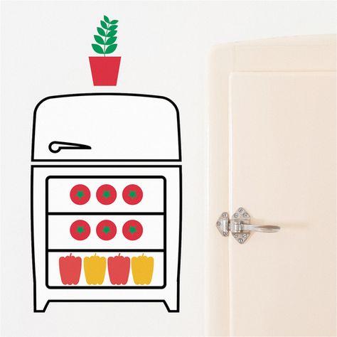 ¡Construye la cocina de tus sueños con Kids & Cooks! Con estos vinilos de pared, tu hijo y tú podréis decidir dónde colocar cada elemento de la nueva cocina. Kids & Cooks son divertidos vinilos infantiles diseñados por Flavia Le Macchinine que pueden ser usados como juego y como elemento de decoración. Están pensados para …