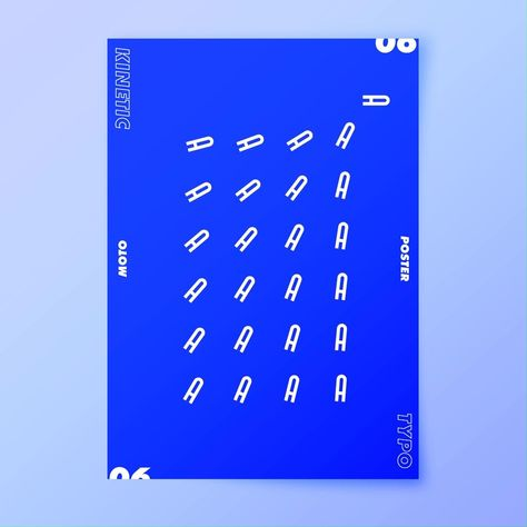 Motion Typography Poster