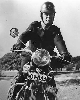 1965 Triumph 650 Nsw Police Motorcycle Australia Motorcycle