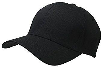 6bed73a6 Men Big Size Blank Baseball Cap Solid Color Adjustable XL XXL XXXL (Black)  at Amazon Men's Clothing store: