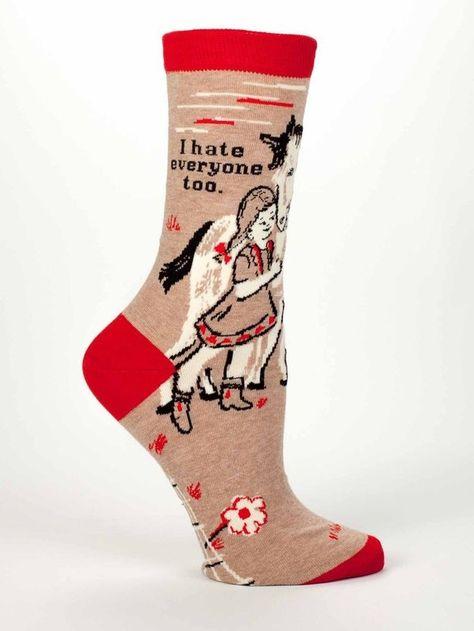 Shut Your Pie Hole Women/'s Ankle Socks Blue Q Novelty Gift 5-10