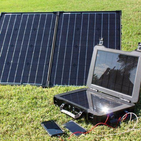 Renogy Phoenix Generator 100 Watt Monocrystalline Foldable Solar Suitcase Kit Solarenergy Solarpanels Sol Solar Panels Solar Energy Panels Best Solar Panels