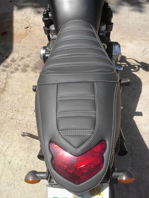 Pillion Seat Pad Suction Cup for Harley Davidson Sportster 1200 Nightster Craftride Diamond black XL 1200 N