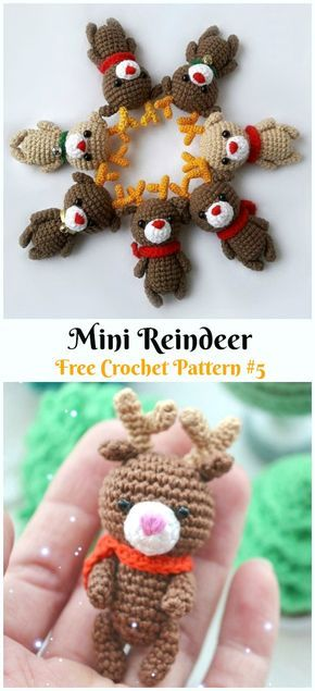 Christmas Crochet - A Must Have Reindeer Amigurumi For This Christmas | 635x290