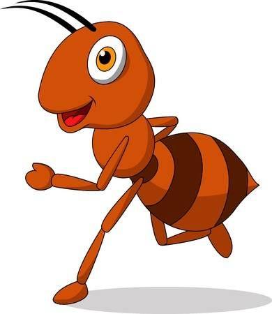 Lindo Historieta Hormiga Corriendo Dibujos De Mariquitas Hormigas Hormiga Dibujos