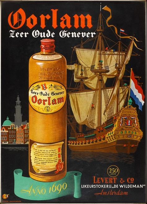 Oorlam Genever - Lovely, that ties to the 17th century times.