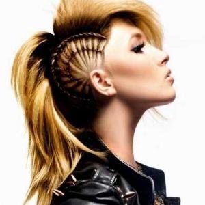 34+ Femme rock coiffure inspiration