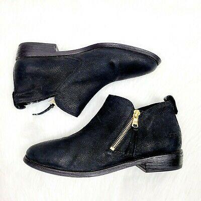 UGG Glee Ankle Boots Size 9 Black