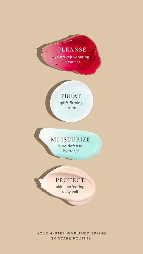 4 Step Simplified Skincare Routine