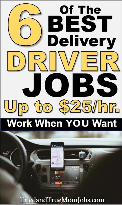 6 Highest Paying Delivery Driver Jobs Near Me Hiring Now In 2020