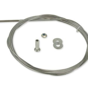 Cablerail Kit For Metal 1 8 Deckstore In 2020 Cable Railing Systems Cable Railing Stainless Steel Cable