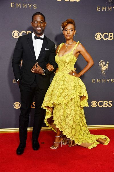 Sterling K. Brown and Ryan Michelle Bathe - The Cutest Couples at the 2017 Emmy Awards - Photos