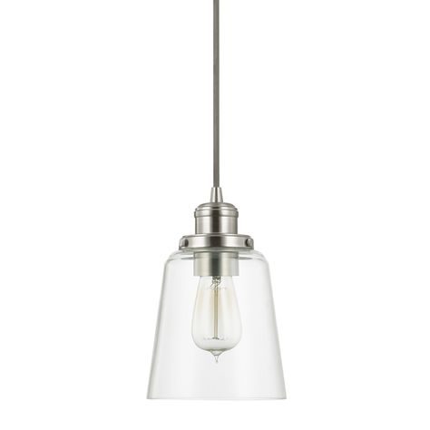 Capital Lighting 3718BN-135 Brushed Nickel Mini Pendant On Sale Now. Guaranteed Low Prices. Call Today (877)-237-9098.