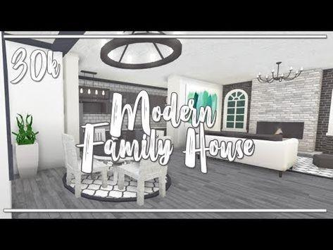 Welcome To Bloxburg Ii Modern One Story 30k Family House No Gamepasses Youtube Modern Family House Family House Family House Plans Bloxburg bedroom ideas tutorial