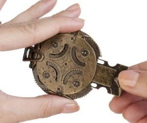 Cryptex Mechanical Steampunk Flash Drive Keep Your Documents Safe By Storing Them In This Cryptex Mechanical Steampunk Flash Drive This One Of A Kind Housing