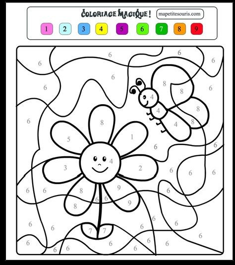 Coloriage Code Grande Section.Coloriage Magique Maternelle Grande Section A Imprimer