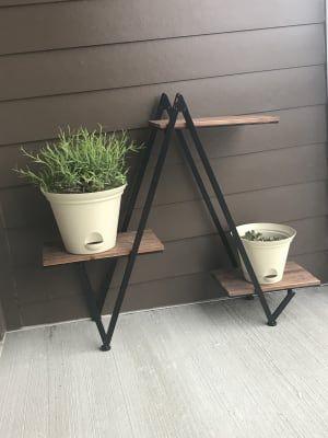 Wilson Fisher Modern Wood Metal 3 Tier Plant Stand Big Lots Plant Stands Outdoor Plant Stand Plant Stand Indoor