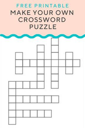 Crossword Puzzle Generator Create And Print Fully Customizable Puzzles With This Free Generator Enter What Crossword Puzzle Maker Crossword Crossword Puzzle