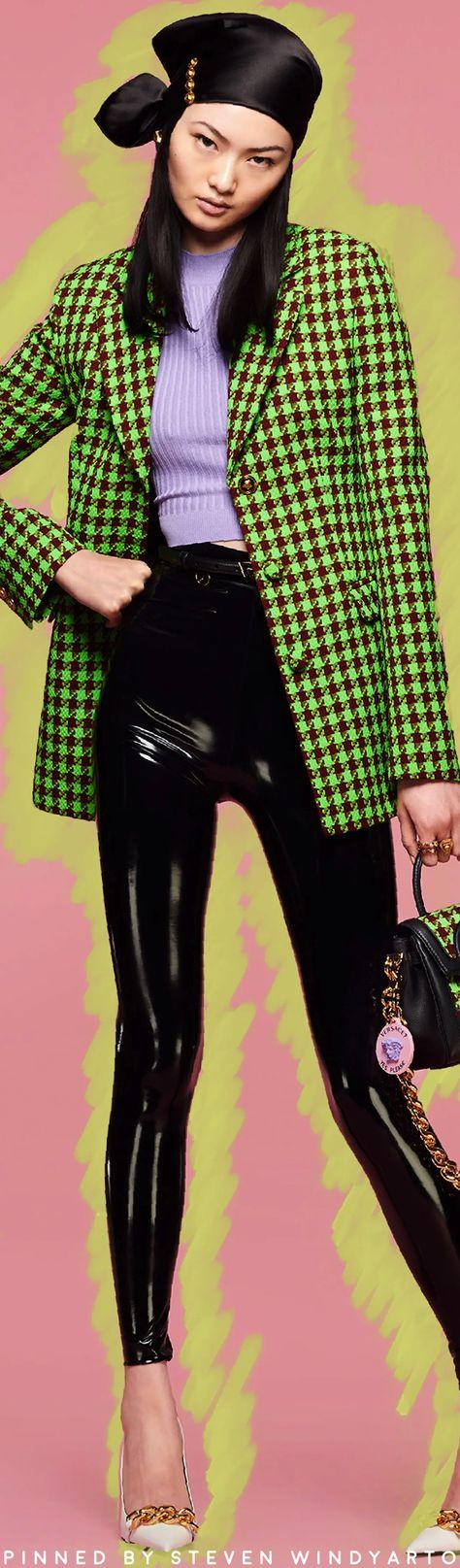 Versace Resort 2022 Lookbook #resort2022 #cruise2022 #r22 #womenswear #donatellaversace