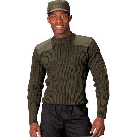 Clothing | Commando sweater, Wool sweater men, Camouflage