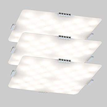Dancra Ledパネルライト 3枚セット 3mm超薄型 電球色 高輝度 Ac