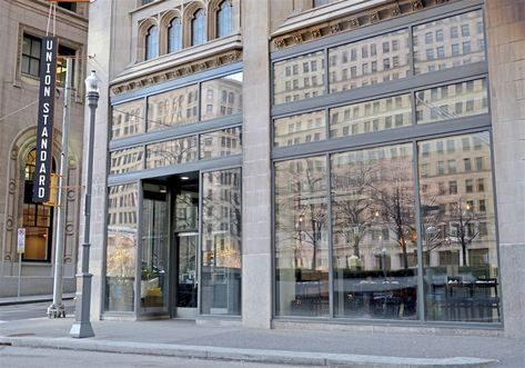At One Time The Union Standard Restaurant Was Hailed As A Major Step In The Transformation Of The Historic Union Tru Bath And Beyond Beth Bath And Beyond Union