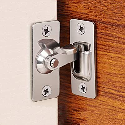 Dingchi 90 Degree Door Clasp Lock Shift Door Lock Button Push Pull Button Door Latch Special Door Lock Button Am In 2020 Door Locks Barn Door Locks Barn Door Latch