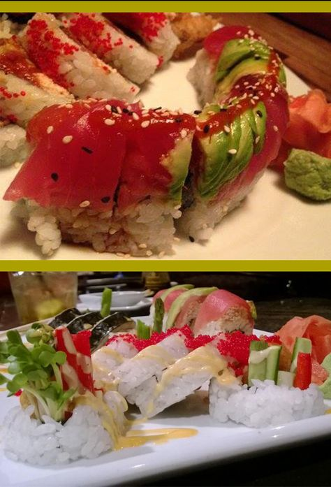 Take a break from shopping and dine on sushi at CoBo Sushi Bistro and Bar. | Downtown Boone, NC