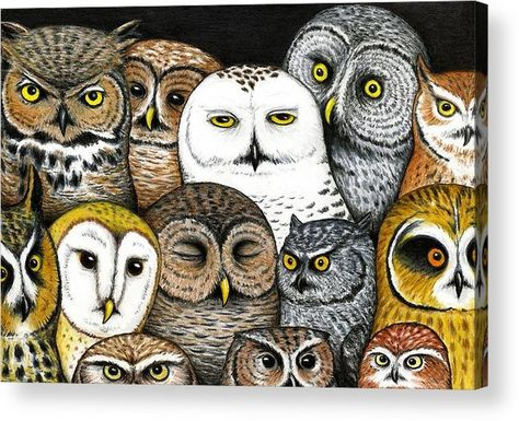Shop for owl art from the world's greatest living artists. All owl artwork ships within 48 hours and includes a money-back guarantee. Choose your favorite owl designs and purchase them as wall art, home decor, phone cases, tote bags, and more!