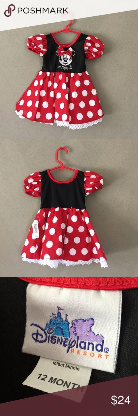 Kids | NWT / Disneyland Resort Minnie Dress / 12mo Kids | NWT / Disneyland Resort Minnie Mouse dress in size 12mo. Purchased at the Disneyland theme park in Anaheim, CA. Disneyland Resort Dresses
