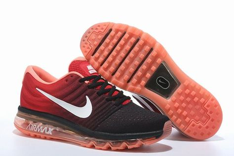 nike max 2017 rouge homme