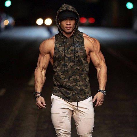 T-shirt Military Green Fitness Musculation shirt homme ironbody