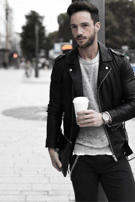 How to wear leather jacket men menswear 55 Ideas for 2019