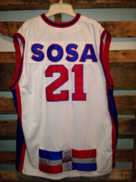 bea873ab6 School Yard Legends Sammy Sosa San Pedro De Marcoris  21 Baseball Jersey XXL