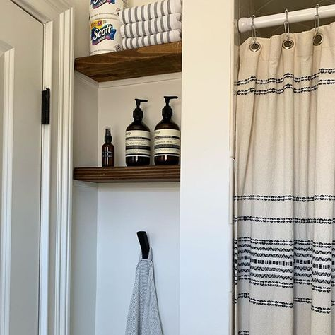 Part Of Our Laundry Room Makeover Included A Bathroom We Used A