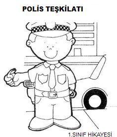 Beste Atalay Kayis Adli Kullanicinin Polis Panosundaki Pin Okul Trafik Polisi Okul Oncesi