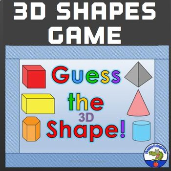 bästa sneakers bäst giltig köp billigt 3D Shapes - Guess the Shape PowerPoint Game | Powerpoint games ...