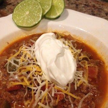 Easy (No Bean) Chili Recipe!