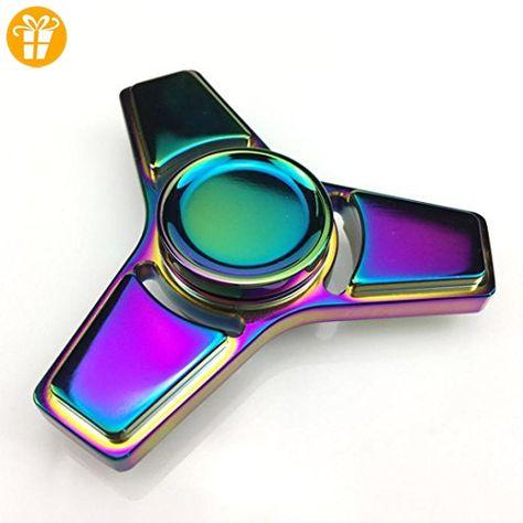 Fidget doigt Spinner main Spin Bearing Focus Flamme Bleu Style