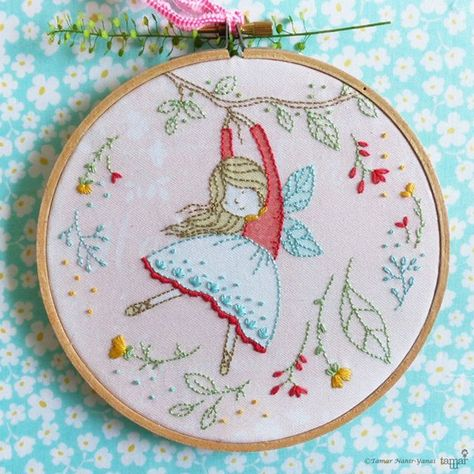 diypresent Flying Fairy Embroidery Kit ....