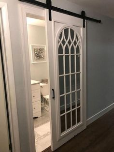 Barn Style Interior January 24 2019 At 04 25pm Mirror Barn Door Bathrooms Remodel Barn Door Designs