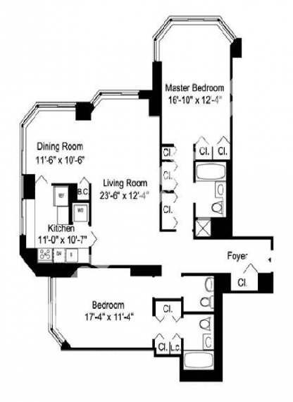 43 Trendy Apartment Studio Nyc Floor Plans Studio Floor Plans Apartment Floor Plans Studio Apartment Floor Plans