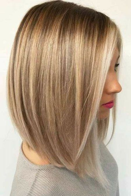 23 Bob Haircuts For Thin Hair Long Bob Hairstyles 2019